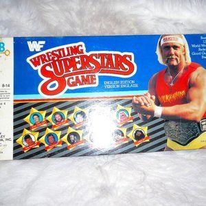 WWF Wrestling Superstars Board Game
